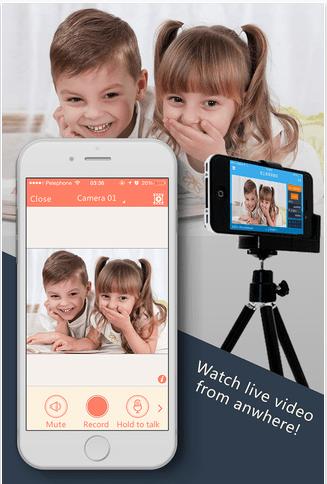 AtHome iOS App for Home Security