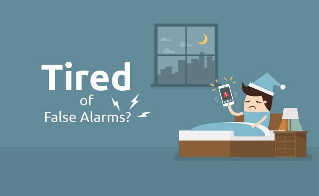 False Alarms of Battery Powered Motion IP Camera