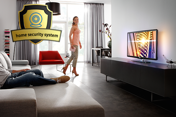 Home Automation with Home Security
