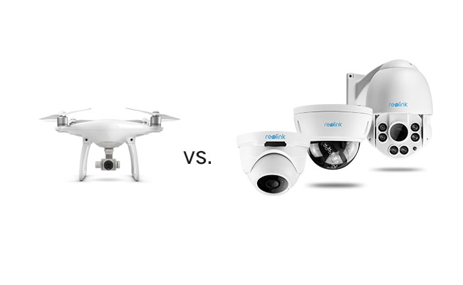 Drone Security System VS Smart Home Security System