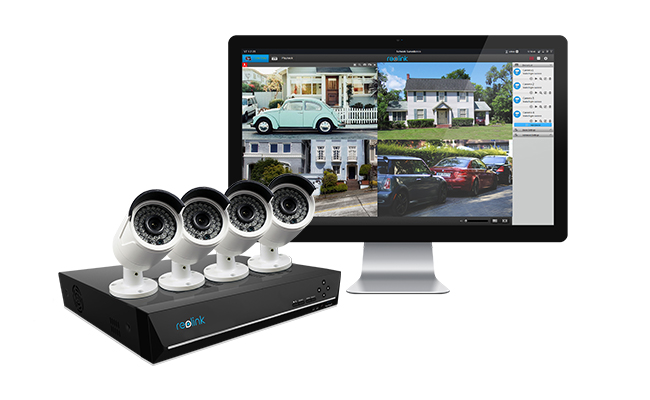 8 Channel Security Camera System