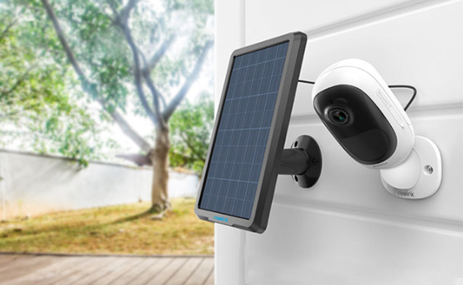 Solar Powered Outdoor Camera