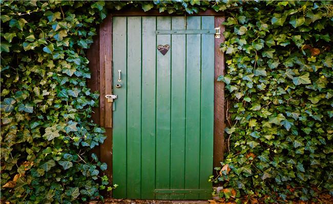 Secure Vacation Home Door
