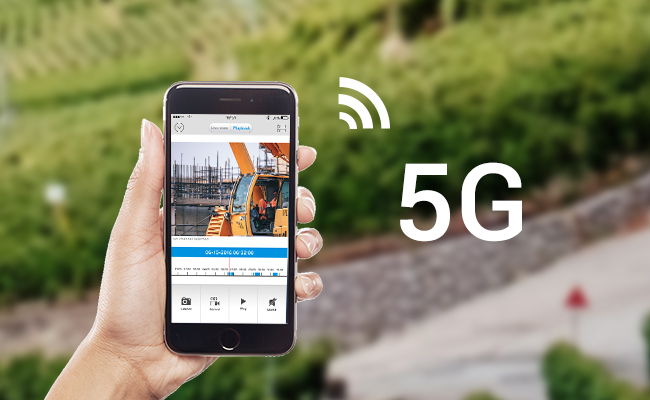 5G Wireless Security Cameras